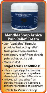 MendMeShop Arnica Pain Relief Cream