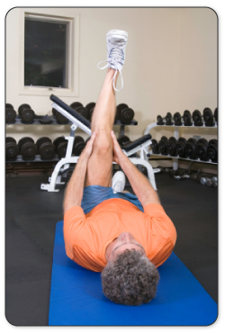 knee joint exercise to strengthen and flex your meniscus after injury