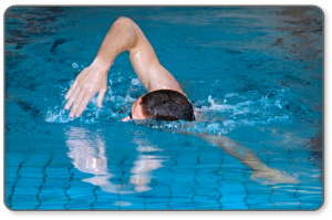Meniscus surgery cover plan includes swimming